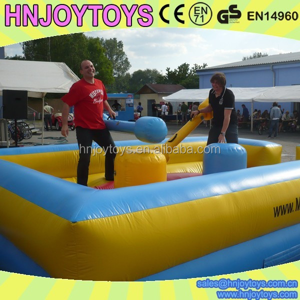 Factory direct sale wholesale inflatable jousting sticks for arena