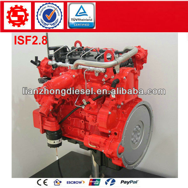 Motor assembly diesel FOTON Cummins ISF2.8 series Engine