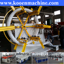 new designed production line PE PP PVC single/double wall corrugated pipe machinery with good price