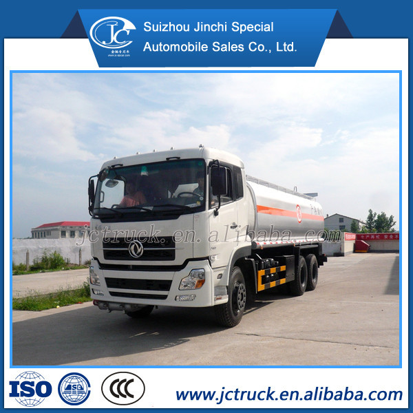 China Famous Dongfeng 18000 liter Corrosive materials tanker truck for sale