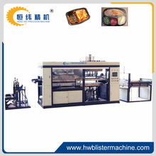 PLC Control Thermoforming Machine For Plastic Food Tray With Lid