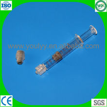 luer lock prefillable syringe for injection