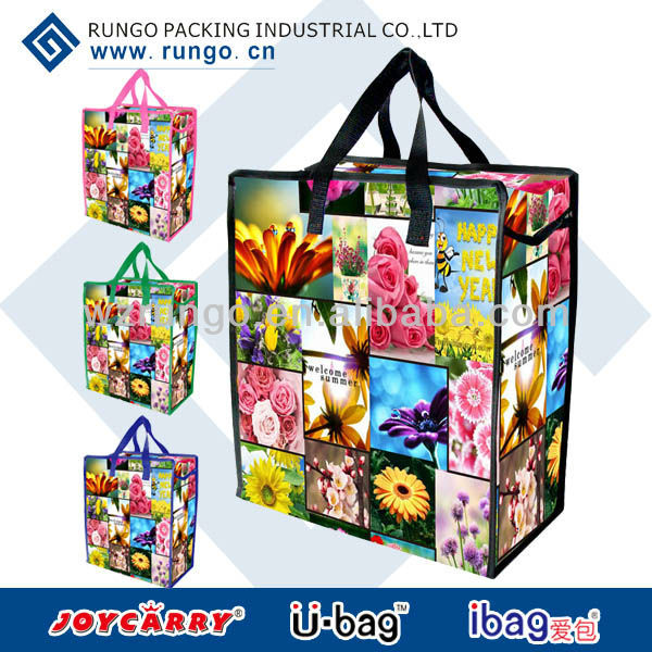 China promo gifts big shopper with zipper
