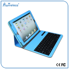 trade assurance Green color factory supply bluetooth keyboard case for htc one