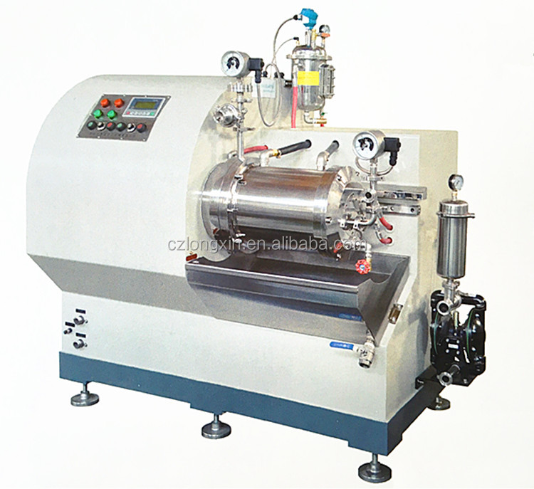 Longxin Professional Turbo Superfine Nano Sand Mill for Digital Consumption Material Grinding (WST-15)