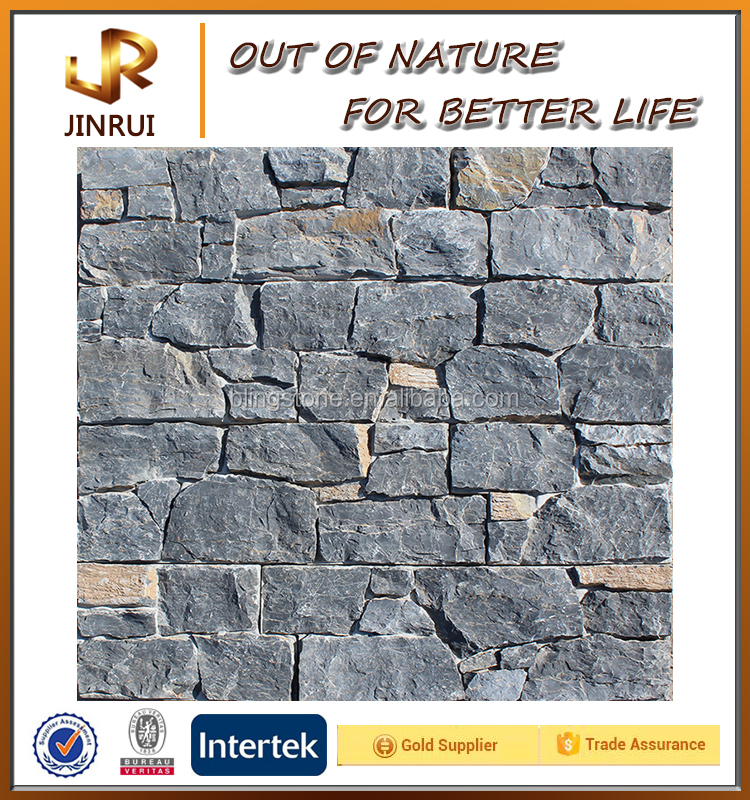 Residential Commercial Natural Charcoal Building Material Stone