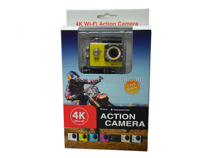 2105 new model watperoof 2.0inch LCD wifi sports camera 4k video camera