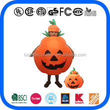 Hot Sale Halloween inflatable pumpkin costume for Kids inflatable costume