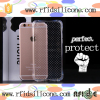 Airbag design drop resistance transparent TPU Cell Phone Case 4.7/5.5 inch for iphone