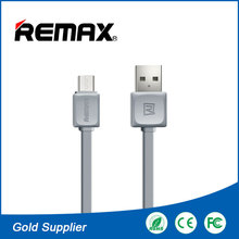Remax 100CM 2.1A Fast Charge Micro USB Ribbon Cable 20awg-28awg for Smartphone