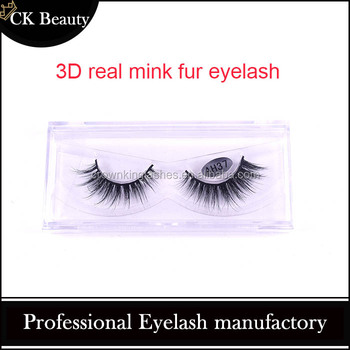 Hot selling false strip eyelash, fake MINK FUR eyealsh