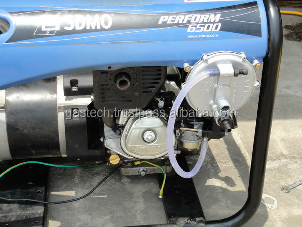 Tri fuel, LPG-Biogas, Natural gas conversion kit for gasoline generator