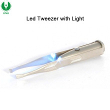Fashion Flashing LED Eyebow Tweezer,Led Light Tweezer, Light Up Tweezer For Sale