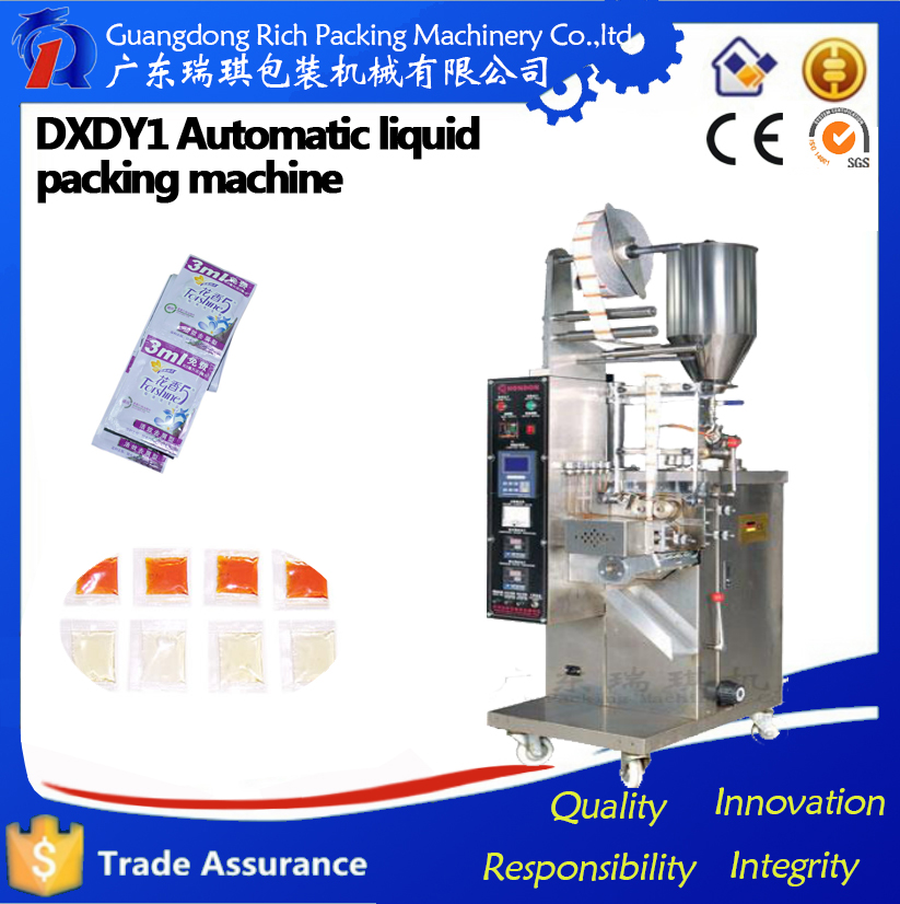 Gel Lotion Stick Sachet Automatic Liquid Packing Machine