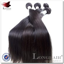 Easy To Dye Hair/Donor Top Grade 5A 100% Virgin Remy virgin hair straight 2pcs lot