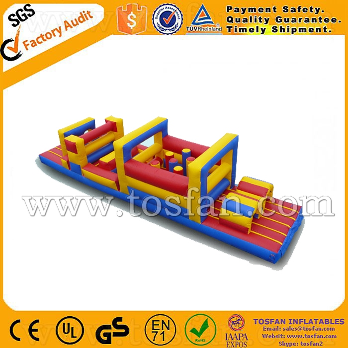 Hot pvc inflatable obstacle course sport <strong>game</strong> for outdoor A5064