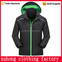 new useful city winter jacket running man customized logo garments