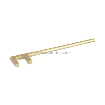 explosion-proof aluminium bronze F type square valve wheel wrenches