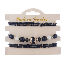 wholesale top sale black bracelet on ebay wish amazon aliexpress with small moq at cheap price