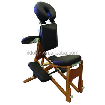 Wood portable massage chair spa equipment ds 1 m 1905w for A and m salon equipment