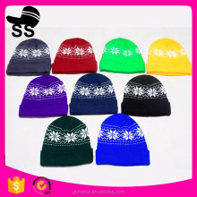 2018 Wholesale Colorful Acrylic Thin long walmart winter Beanie hats factory direct
