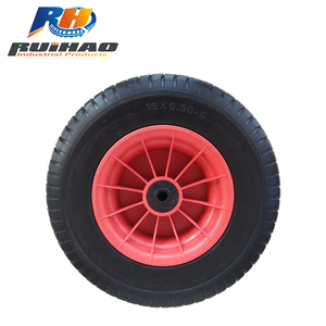 Manufacturer High Quality 16 Inch Solid Foam Rubber Wheel Tyre 6.50-8