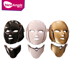 Newangie FM8 7 colour led facial neck mask led light therapy with CE