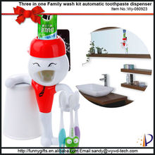 Neat bathroom accessory set tooth brushing wash kit