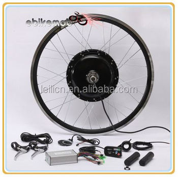 Pedal assist speedometer 48v 1000w electric bike for Motor assisted bicycle kit
