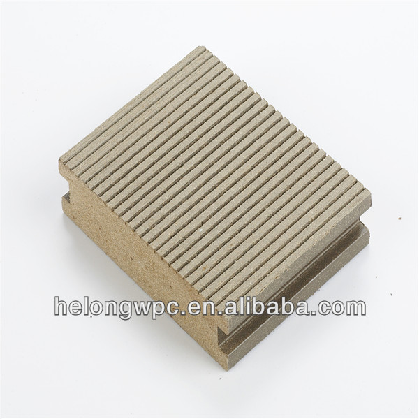 China wooden outdoor solid teak wpc outdoor decking HLS-005125*30MM