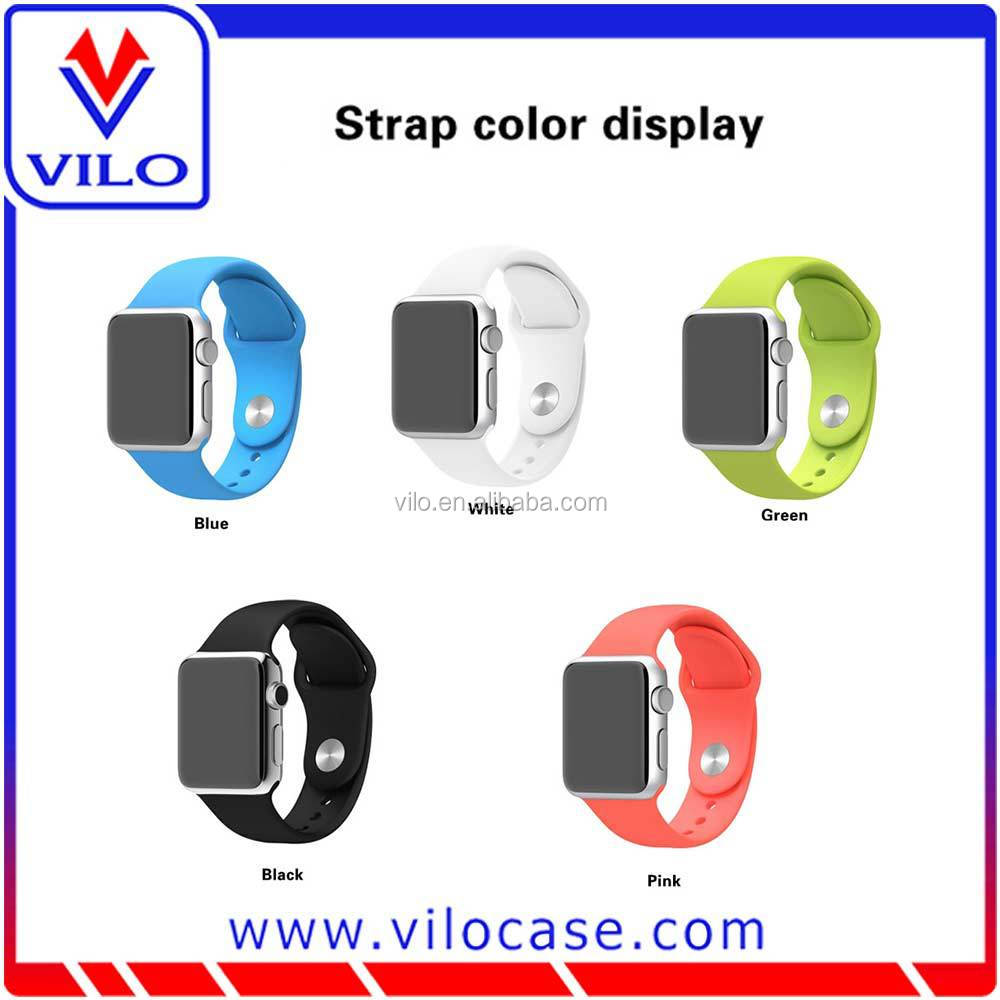 h Silicone Strap Watch Band for Apple Watc