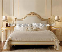 european style luxury hotel room furniture bed TRBD-201