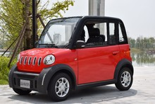 Luxurious L7e eec Electric mini cars 4 seats 4 wheels with air conditioning