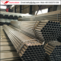 "1 1/4 inch Galvanized Steel Tube / Pipe, More size 1/2"" to 8"""
