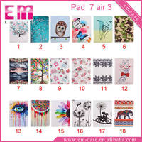 Newest For iPad 7 Colorful Painted Case/Flip Leather Painting Case For New iPad Air 3