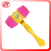 Chrismas plastic toys noise hammer fun toys for baby
