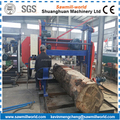 Large Plank Making Horizontal Wood Cutting Band Saw Mill
