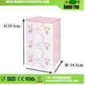Docile Bear Brand 3-Tier Simple Printing Multi Fuction Kids Storage Dry Bedroom Wall Cabinets