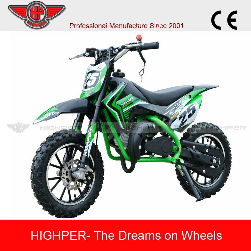 2017 gas powered 49cc 2 stroke kids mini cross motorcycle (DB709)