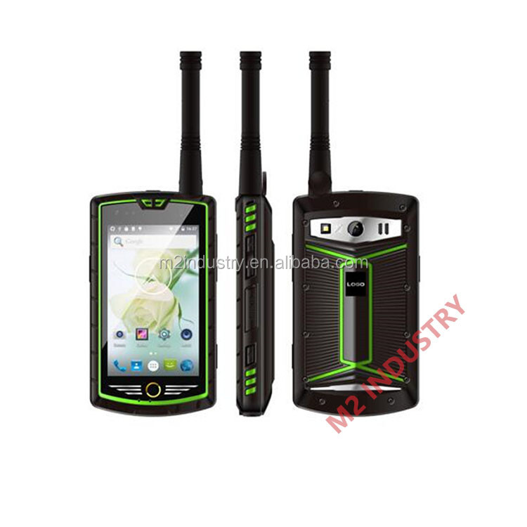 waterproof walkie talkie rugged mobile phone smart phone HT06 with NFC octa sim gps durable 4g lte