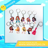 Promotional PVC keychain/mobile chain
