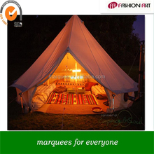 cotton canvas bell tent water [proof and mildew proof luxury tent lodge to live in