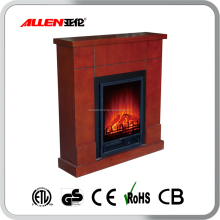 decor flame electric fireplace heater with remote control
