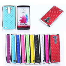 Luxury blingbling plated star hard case for LG G3,for LG G3 case
