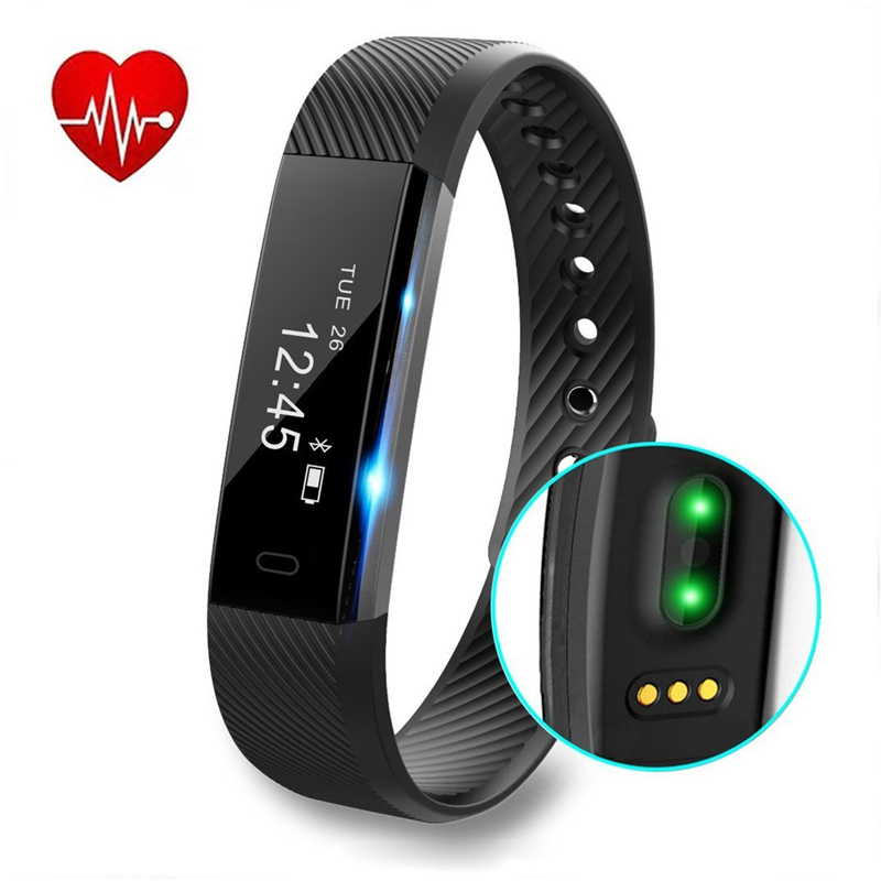 Rohs CE Speedometer Smart Watch Sleep Monitoring Wristband fit bit Bluetooth 4.0 Smart Band