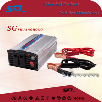 300w400w500W dc to ac car inverter modified sine wave