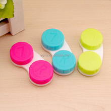 Cosmetic Contact Lenses Box Contact Lens Case for Eye color Care Travel Kit Holder Container