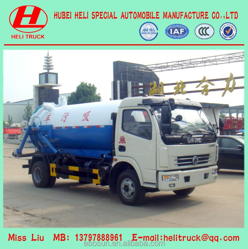 5000L Vacuum Sewage Suction Truck, vacuum truck!!China manufacturer