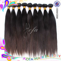 Top 5a quality 1# black 100% virgin brazilian remy human hair silky straight full lace wigs extra long hair