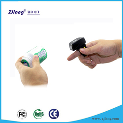 Smart Finger Ring-Type Wearable Bluetooth Barcode Reader Scanners for Android/IOS/Computer ZJ-7510